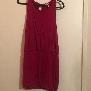 Splendid - Spandex/ Rayon Blend Dress in magenta